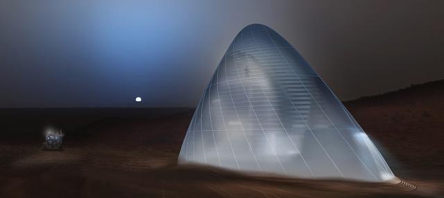 Mars Ice House. Αυτή είναι η κατοικία που ίσως φιλοξενήσει τους πρώτους ανθρώπους στον Άρη!