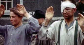 Σπάνιο έγχρωμο βίντεο από την απελευθέρωση του Νταχάου