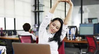 Πέντε τρόποι να μην νιώθεις πια κούραση στο γραφείο
