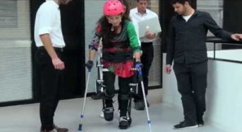 Προ των πυλών ο «εξωσκελετός» που θα κάνει τους παραπληγικούς να περπατήσουν