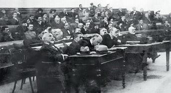 Η δίκη των πρωταίτιων της Μικρασιατικής Καταστροφής