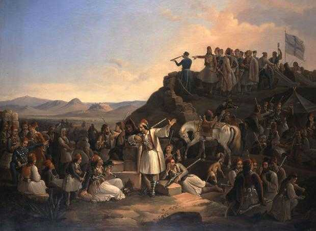 29 Ιανουαρίου 1827 Η Μάχη της Καστέλας