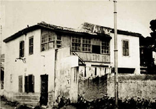Το σπίτι του πυρπολητή Κανάρη στην Κυψέλη