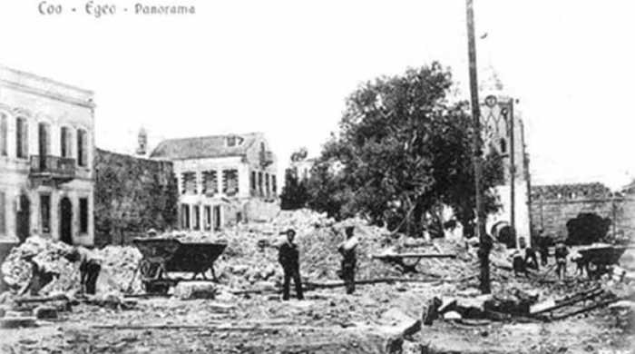 Οι καταστροφικοί σεισμοί και τα τσουνάμι που έχουν χτυπήσει την Κω -Το 1933 θρήνησε 178 νεκρούς