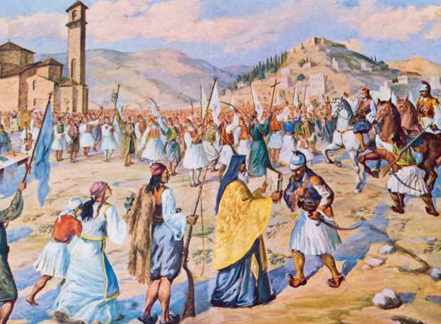 Η απελευθέρωση της Καλαμάτας τον Μάρτιο του 1821