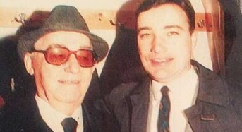 Ο γιος του Νίκου Ρίζου ανοίγει το άλμπουμ της ζωής τους H «αδυναμία» του γίγαντα του γέλιου