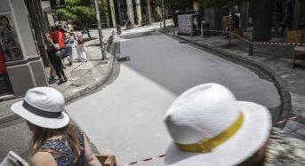 O πρώτος «λευκός» δρόμος της Αθήνας είναι γεγονός