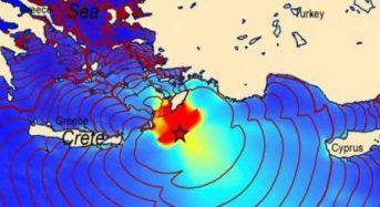 8 Αυγούστου 1303 Οταν χτύπησαν την Κρήτη σεισμός 8 Ρίχτερ και τσουνάμι ύψους 5-10 μέτρων