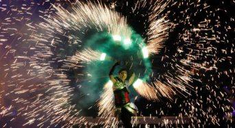 Εντυπωσιακό Φεστιβάλ Φωτιάς στο Κίεβο!
