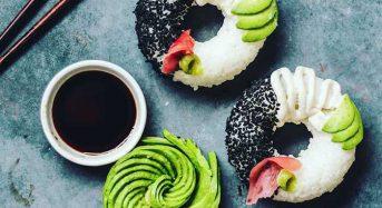 Σούσι-έργο τέχνης σε μορφή ντόνατ!