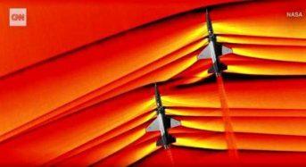 "NASA: Εξωπραγματικά πλάνα από υπερηχητικά jet που ""συγκρούονται"" με το φράγμα του ήχου"