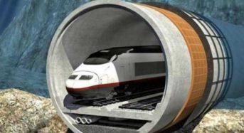 Στα σκαριά η μεγαλύτερη υποθαλάσσια σιδηροδρομική σήραγγα
